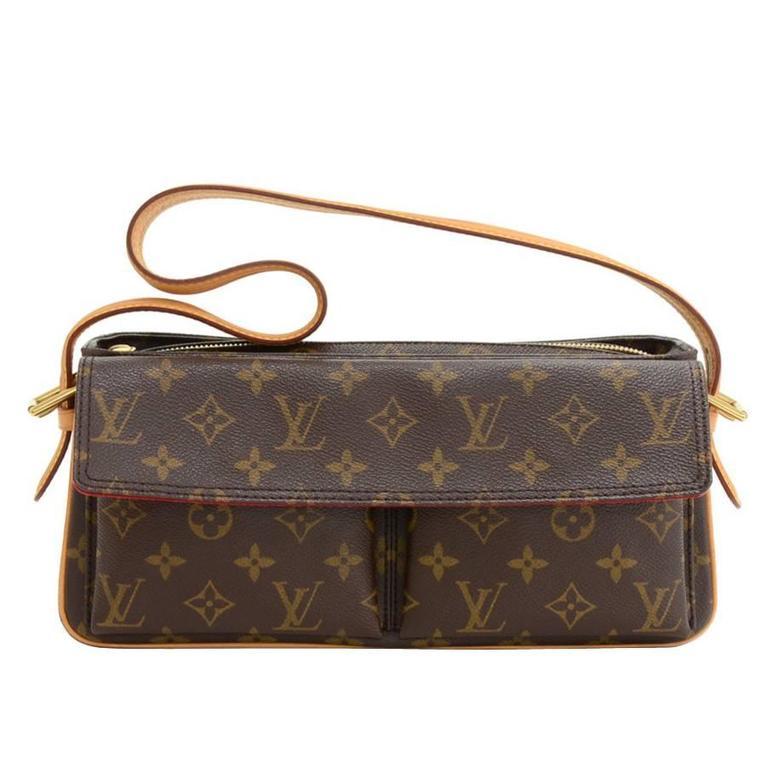 Louis Vuitton Viva Cite MM Monogram Canvas Shoulder Hand Bag 1
