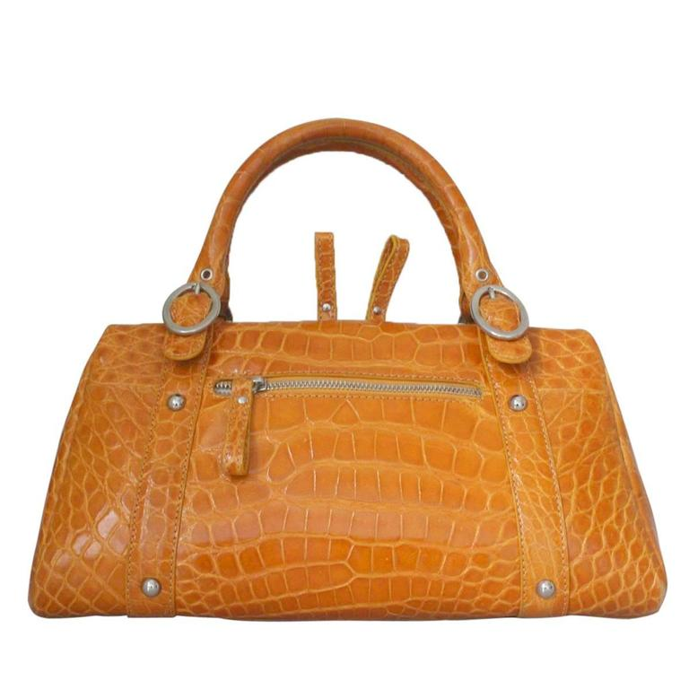 1stdibs Maxima For Contessa Anna Vintage Tan Alligator Handbag IdqQiW