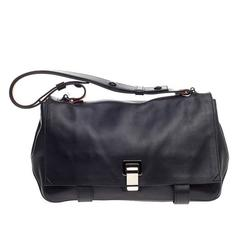 Proenza Schouler Courier Leather Medium