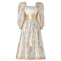 Leonard silver dress, circa 1970