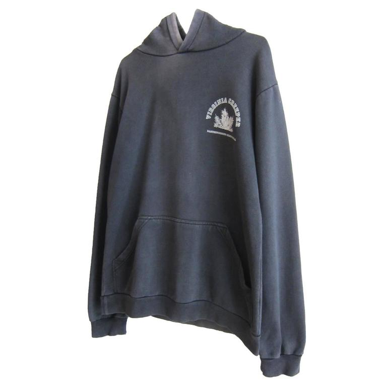 Raf Simons Hoodie Sweatshirt A W 2002 Virginia Creeper At