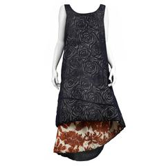 Comme des Garcons Padded Floral Dress 1996