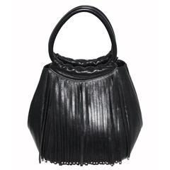 Fringes Charles Jourdan handbag c.1990