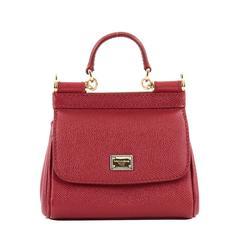 Dolce & Gabbana Miss Sicily Leather Micro