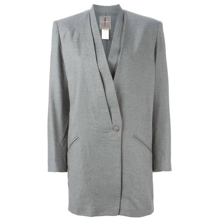 Grey Issey Miyake jacket