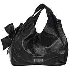 Black Valentino Nuage Bow Tote Bag