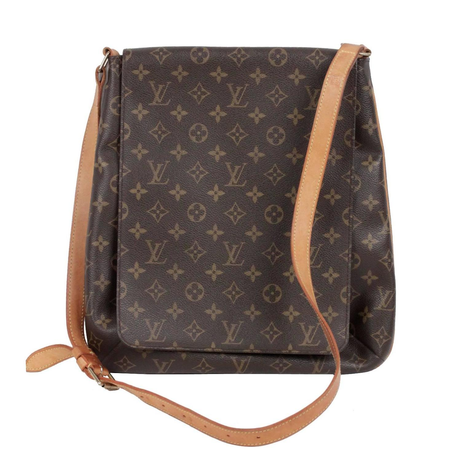 Louis Vuitton Satchel Bag In Brown Monogram Canvas jGRl2Xbu