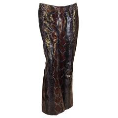 Tom Ford for Gucci Men's 100% Genuine Python Pants 52