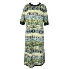 Chanel 2016 Pre Fall Multi-color Cashmere Knit Dress FR38 New