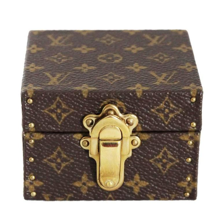 Louis Vuitton rare jewelry box at 1stdibs