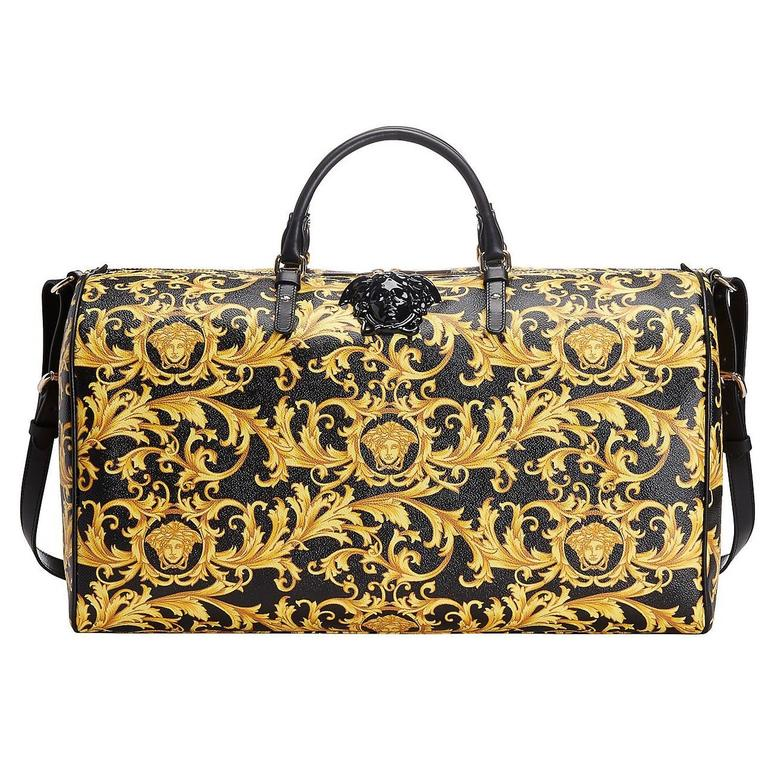 fe89601c0a New VERSACE MEDUSA HERITAGE BAROCCO WEEKENDER BAG at 1stdibs