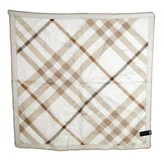 Burberry Novacheck Silk Twill Square Scarf Japan Limited Edition