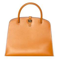 "Hermès Bag  ""Dalvy"" - Natural Vache Leather - Pristine Condition"