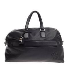 Gucci Soho Duffle Leather Large