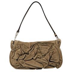 Brown Yves Saint Laurent Suede Bag