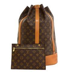 Vintage Louis Vuitton Randonee GM Monogram Canvas Shoulder Bag