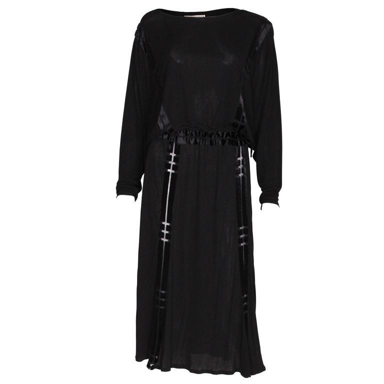 1970s Janice Wainwright Cocktail Dress