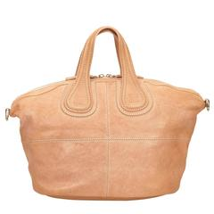 Givenchy Beige Leather Nightingale Shoulder Bag