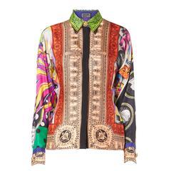 Versace Printed shirt, Spring/Summer 1991