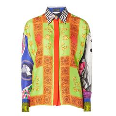 Versace Print shirt, Spring/Summer 1991