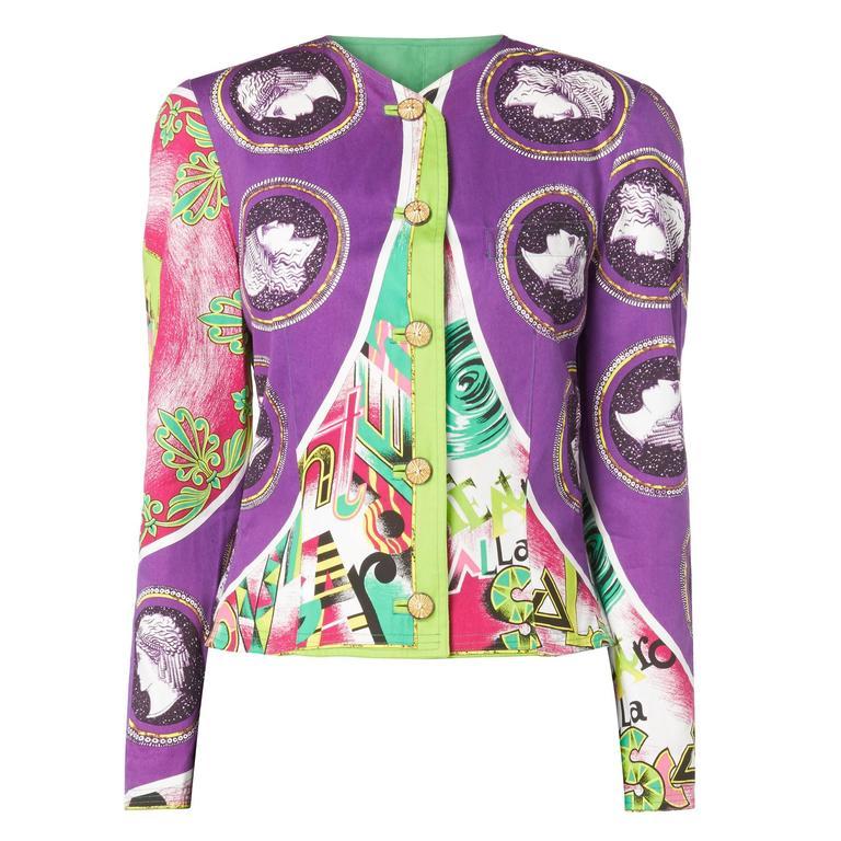 Versace Multicoloured Jacket, Spring/Summer 1991 1