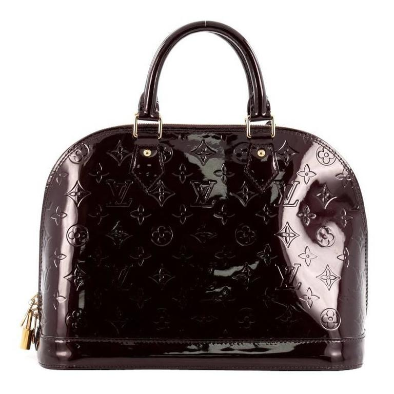 Louis Vuitton Alma Monogram Vernis PM 1