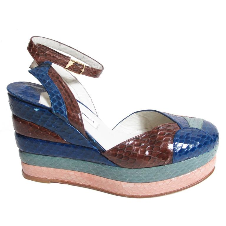 Terry de Havilland Python Platforms - sale
