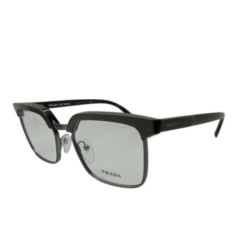 Prada Eyeglasses Gray Havana 1