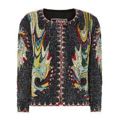 Versace Beaded jacket, Autumn/ Winter 1991