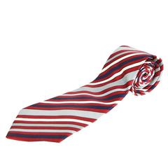 Givenchy Gentleman Men's Silk Satin Striped Tie, 1980s
