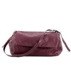 Bottega Veneta Flap Messenger Bag Intrecciato Nappa Large