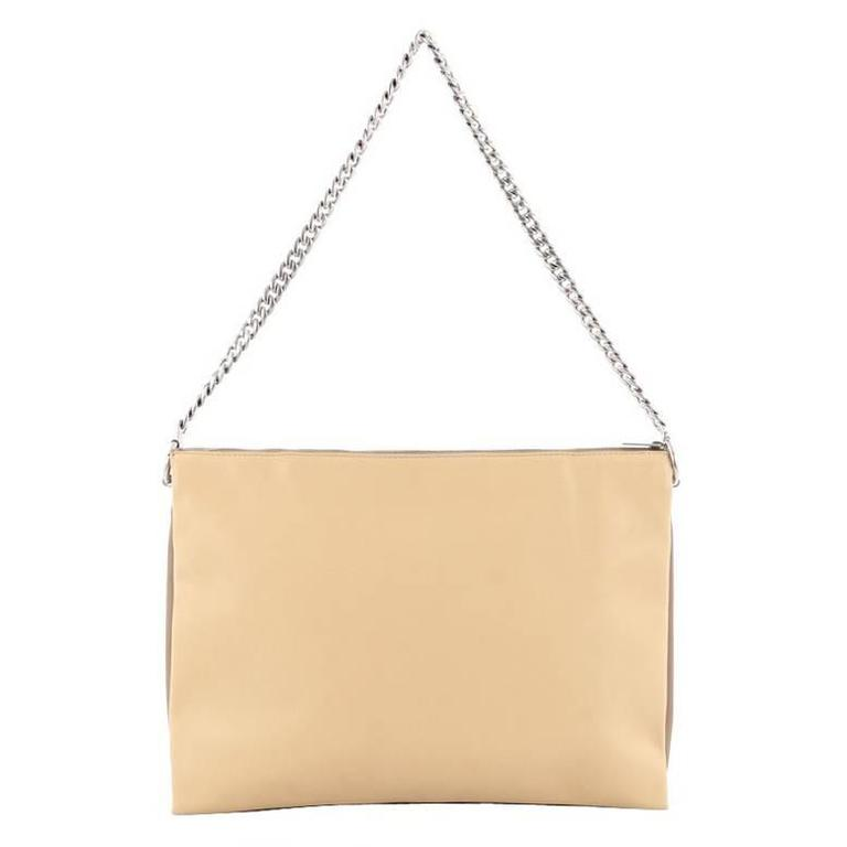 1stdibs Celine Trio Chain Clutch Leather