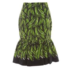 Prada Cotton Banana Print Skirt, Spring - Summer 2011