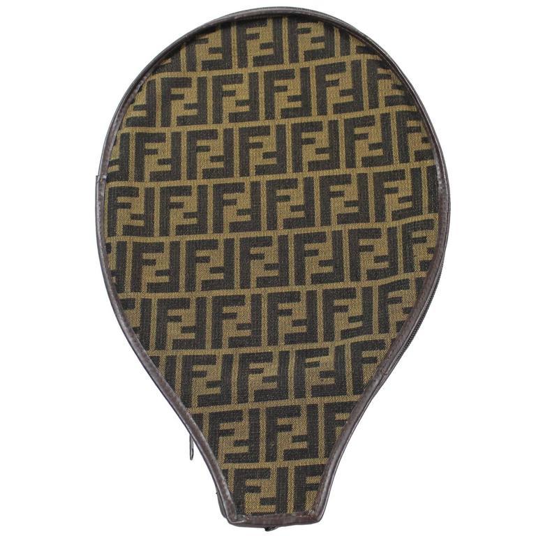"""Vintage Fendi Racket Bag. Size 15 x 9,5"""""""