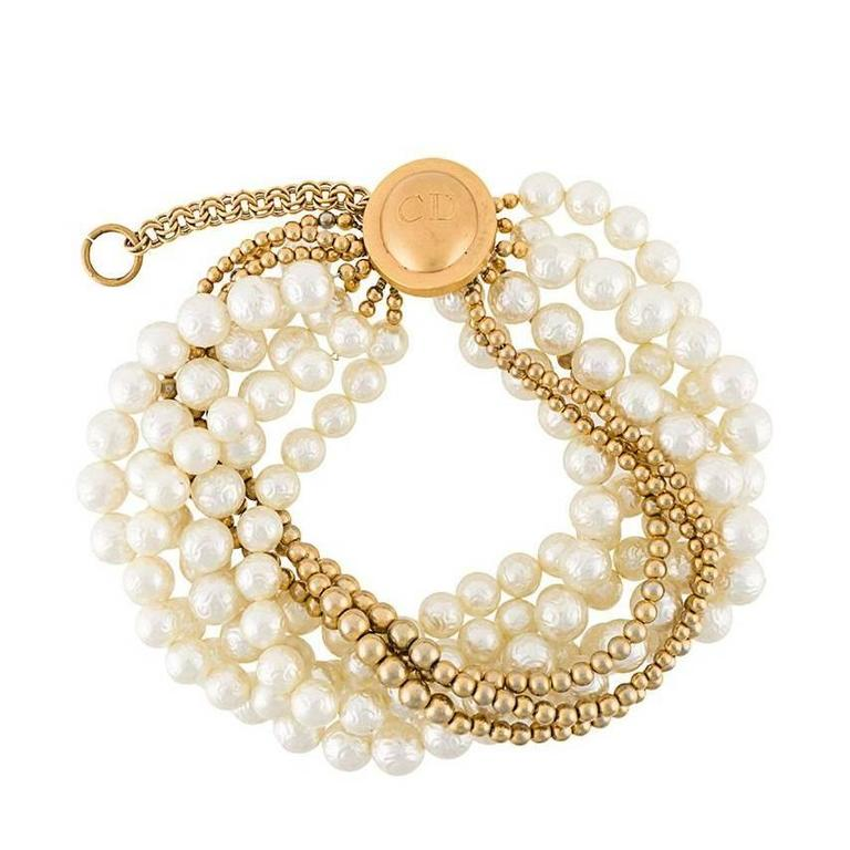 Christian Dior Pearl Chocker by Gianfranco Ferré 1