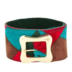 Yves Saint Laurent Suede Belt