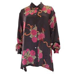 Silk Overshirt by Salvatore Ferragamo