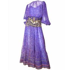 Oscar de la Renta 4 piece Gypsy Outfit