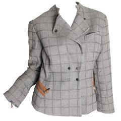Armani Plaid Jacket
