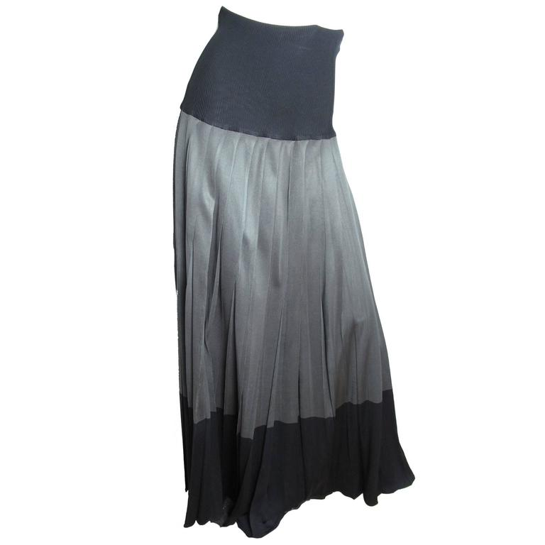 1975 Issey Miyake Pleated Skirt 1