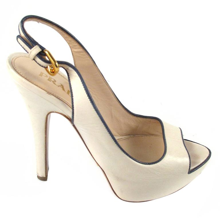 Prada Heels - 5.5 - 35.5