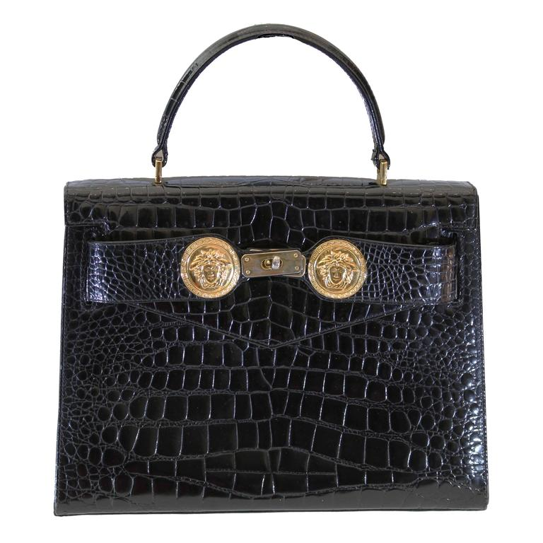 f23b2886f849 RARE AND COLLECTIBLE GIANNI VERSACE COUTURE BAG Princess Diana owned ...