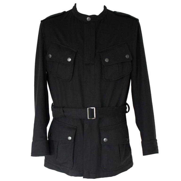 Stunning Gucci Belted Sports Jacket Coat