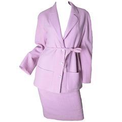 Chanel 1999 Purple Suit