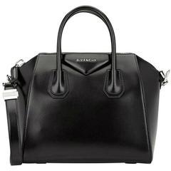 Givenchy Antigona Small 2way Duffel Black Satchel, Black