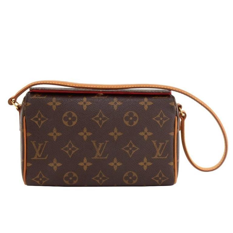 Louis Vuitton Recital Monogram Canvas Shoulder Hand Bag 1