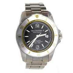 Aqua Master Men's Stainless Steel Watch