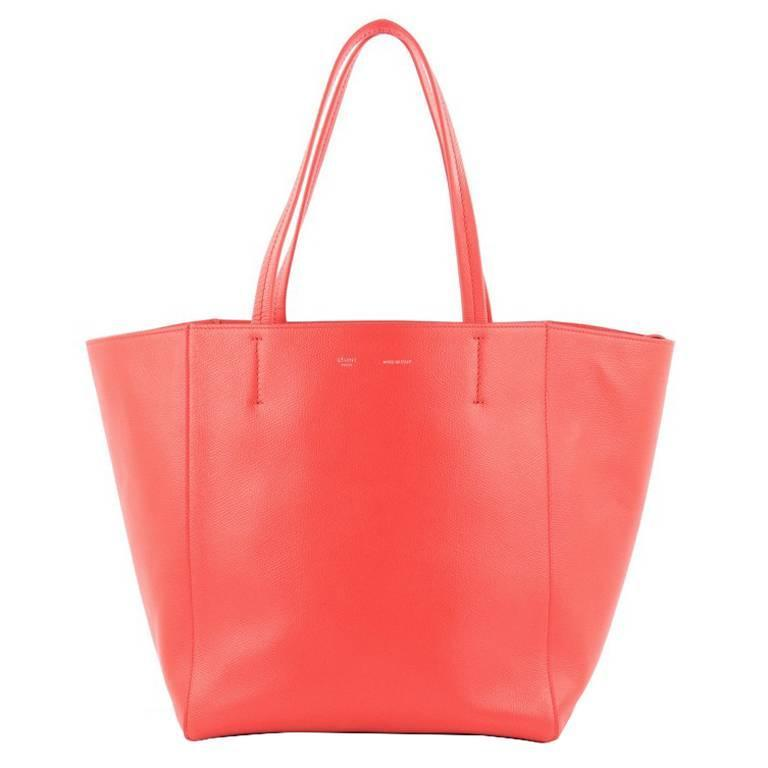Celine Phantom Cabas Tote Leather Small For Sale
