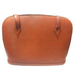 Vintage Louis Vuitton brown epi shoulder tote bag. Perfect vintage LV bag