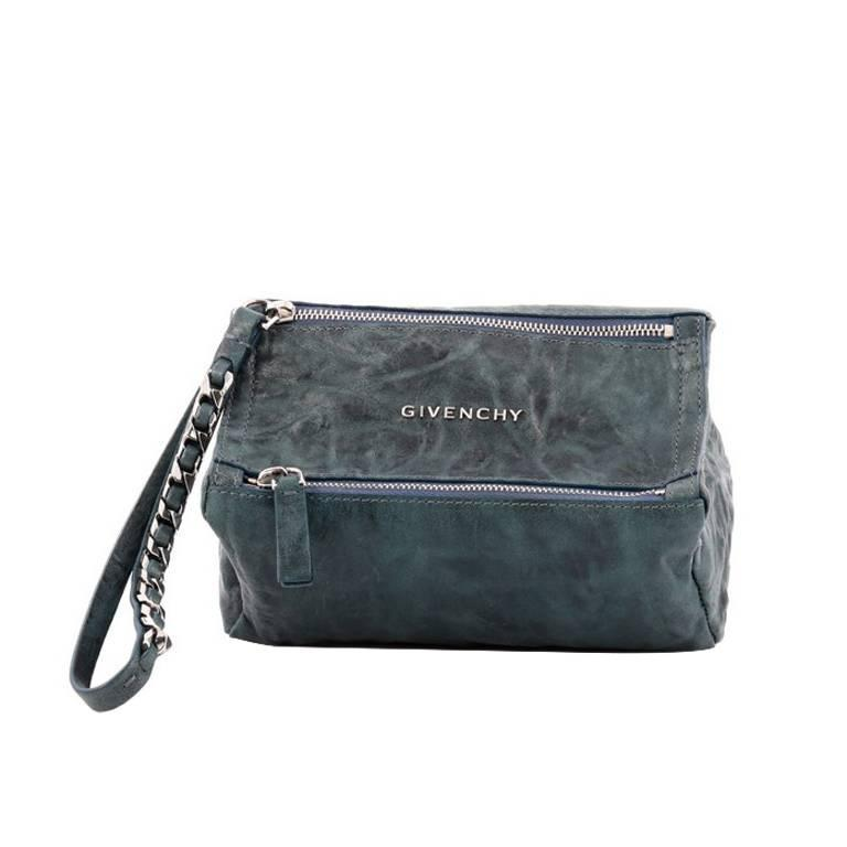 094165d37ae Givenchy Pandora Wristlet Clutch Leather at 1stdibs